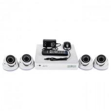 Комплект видеонаблюдения Green Vision GV-K-S16/04 1080P